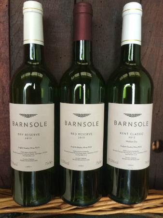 Staple, UK: Barnsole wines