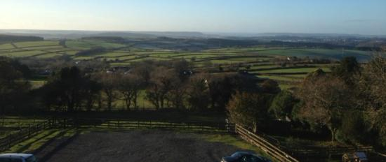 Moorland Hotel: View from the Wotter Room