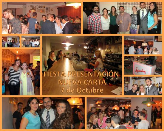 a9c58203e Charlotte  Fiesta de Presentación de la Nueva Carta
