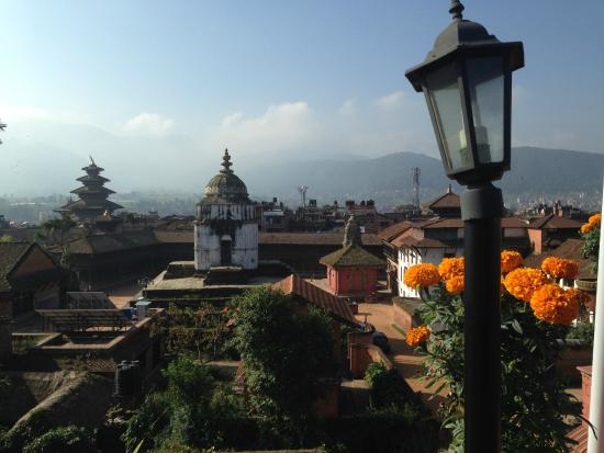 Sweet Home Bhaktapur: Rofftop view