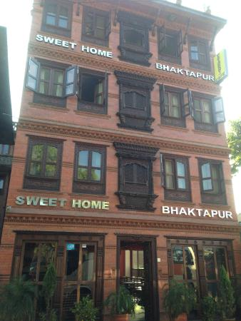 Sweet Home Bhaktapur: The guesthouse