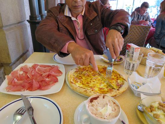 Locanda Ippopotamo: 朝食。