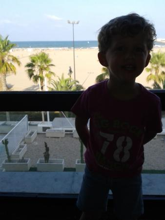 El Coso Hotel : Very happy with our view!