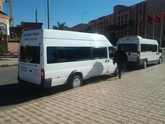 minibus 07 places picture of trans marrakech day tours marrakech tripadvisor. Black Bedroom Furniture Sets. Home Design Ideas