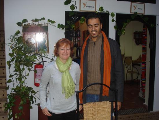 Riad Dar Zampa : ... zuvor und danach bei den sympathischen Gastgebern