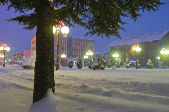 Ugljevik in winter