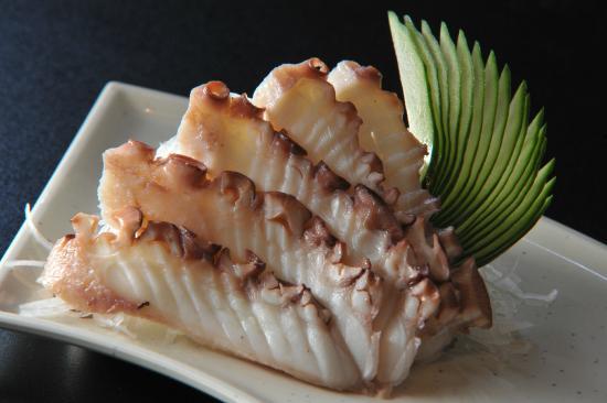 Resultado de imagem para sashimi de tako