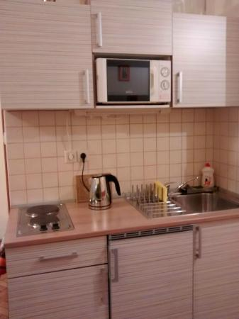 Paprika Apartments In City Center: Kitchen
