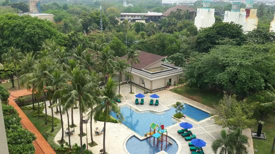 View From Upper Floor Picture Of Discovery Ancol Jakarta Tripadvisor