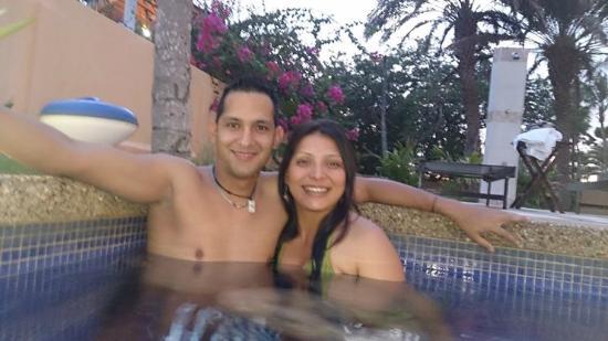 Hotel Casa Rita: muy buena la piscina. pequeña y no tan profunda pero se pasa sabroso.