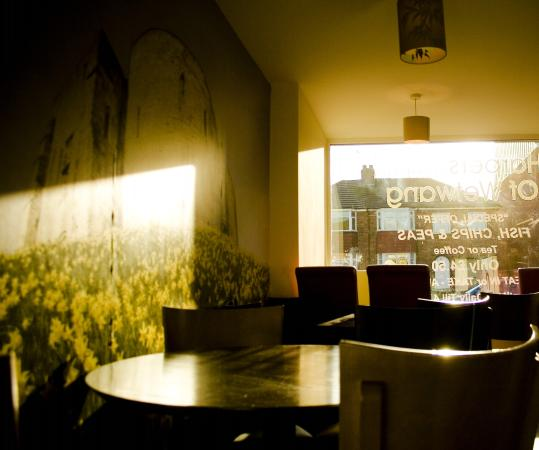Harpers Fish & Chips York: Seating Area