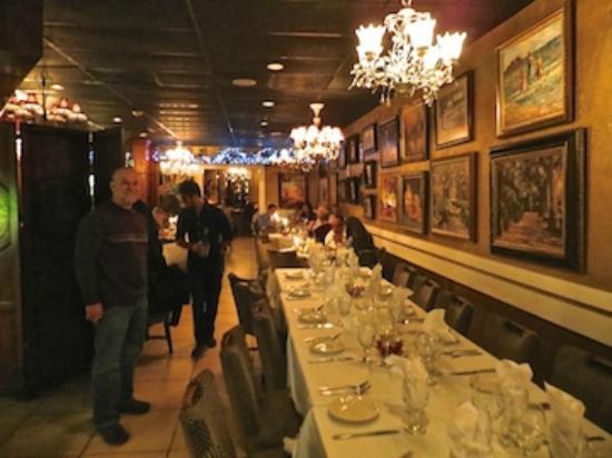 Mario S Catalina Restaurant Plush Entrance To The Main Dining Area