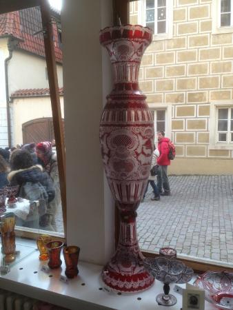 Moser Glass: vaso da circa 20.000 corone