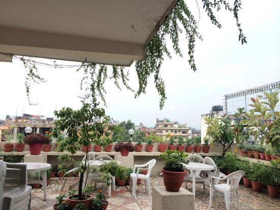 Kathmandu Grand Hotel: Rooftop