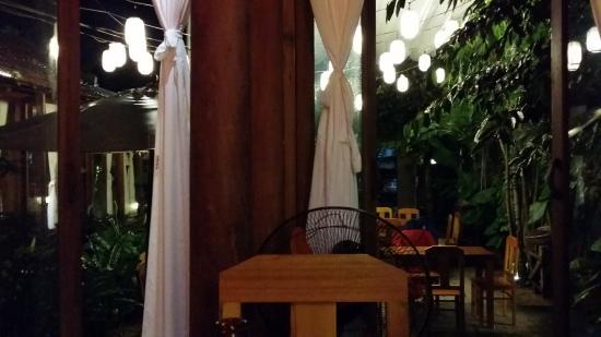 Orivy: Inside the restaurant