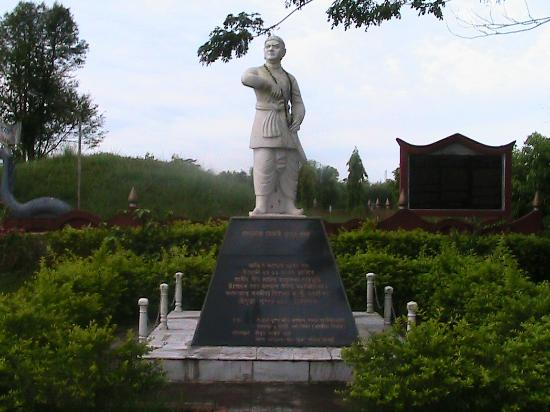 Jorhat, India: Statue of Lachit Borphukan