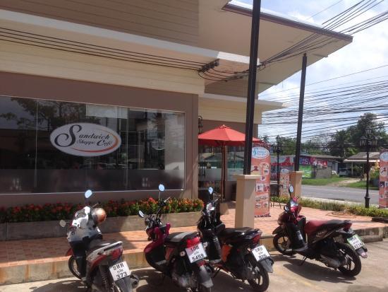 Sandwich Shoppe Chalong: Our convenient Chalong shop
