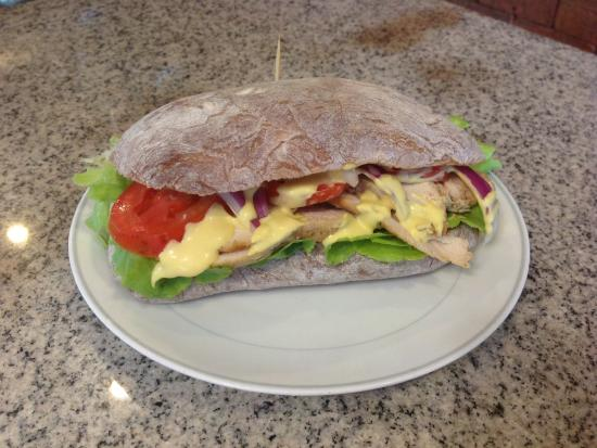 Sandwich Shoppe Chalong: Create your own sandwich
