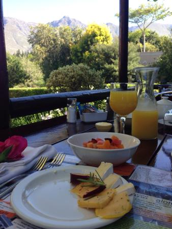 Aan de Oever Guesthouse: ... Your view for breakfast ...