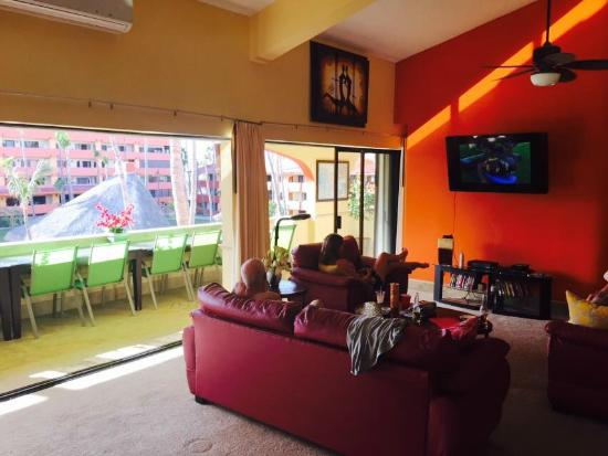 Marina Sol Resort : family room