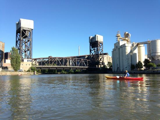 BFLO Harbor Kayak