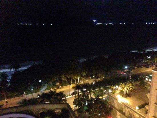 Sunrise Nha Trang Beach Hotel & Spa : View from the lateral rooms