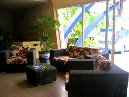 Gran Caribe Club Atlantico: Lobby Hotel Atlántico