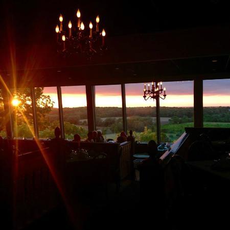 Schimschack's Restaurant: Dinner With A View