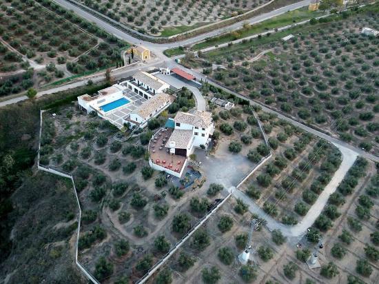 Apartamentos Turistico Rurales Via Verde del Aceite: Vista aerea