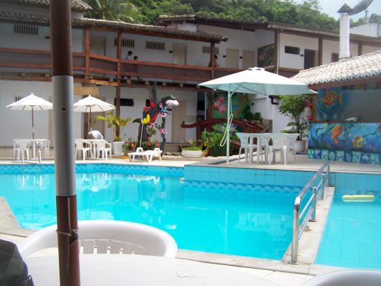 Hotel Casablanca: A melhor parte do Hotel, a piscina.