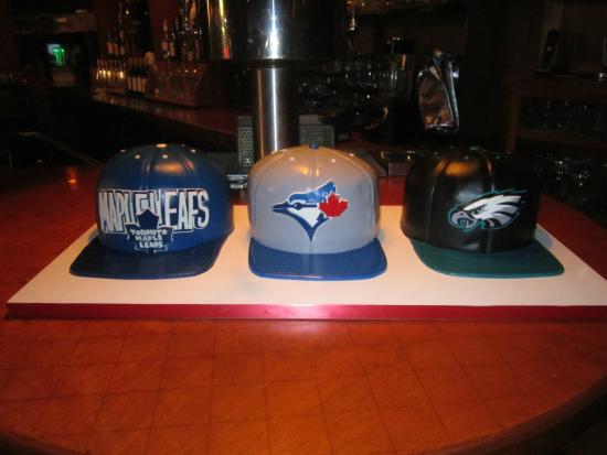 Artsy Baker : Leafs, Jays & Eagles Hats