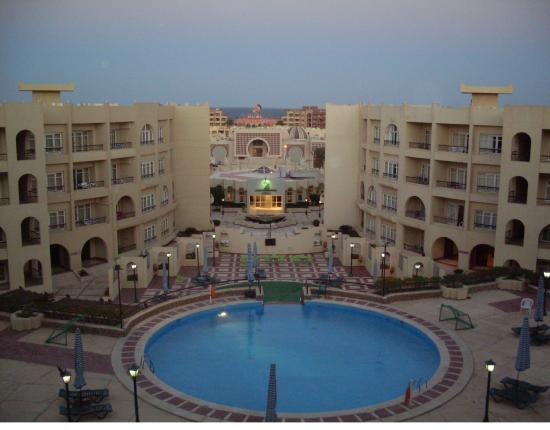 Sunny Days Mirette Family Resort & SPA : Вид из номера 427