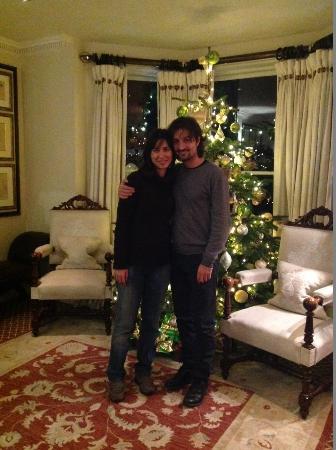 Egerton House Hotel : Me & Francesco in the Hall