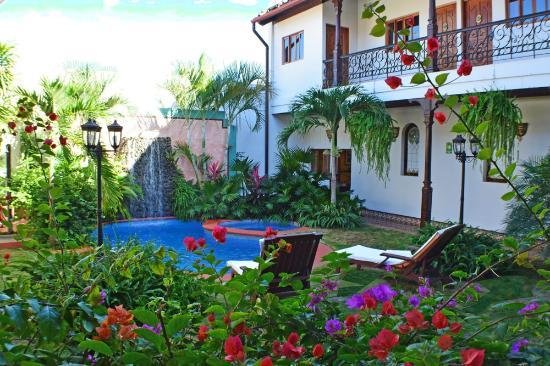 Hotel Dario : A romantic Pool Area