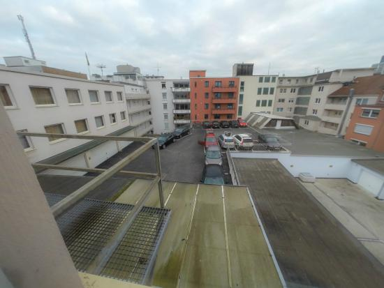 City Hotel Dortmund: Perfect view to the backyard