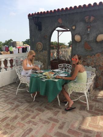 Hostel Noel y Nury : Breakfast