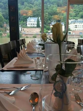 Unser Schwimmendes Restaurant Direkt Auf Dem Neckar Bild Von