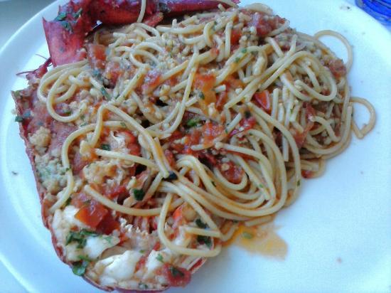 La Terrazza : Spaghetti all'astice