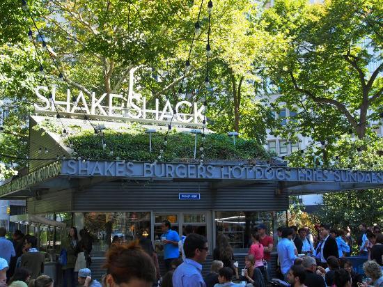 The original shack... Madison Square Park! - Picture of Shake Shack ...
