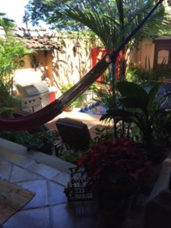 Villa Andalucia Bed and Breakfast: around the pool