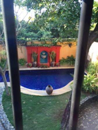 Villa Andalucia Bed and Breakfast: View from the main Casita