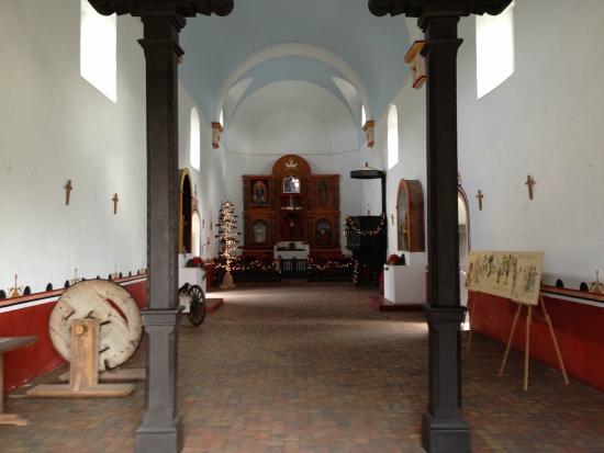 Goliad State Park & Mission Espiritu Santo State Historic Site: Interior of Chapel
