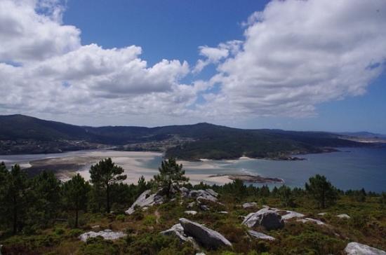 Ponteceso, Spania: Vista desde el mirador