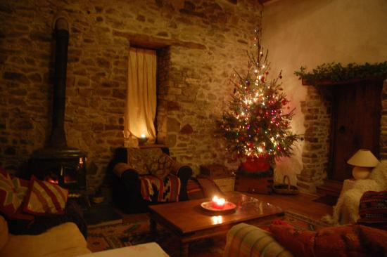 The Old Mill Soar: Soft candlelight and log fires