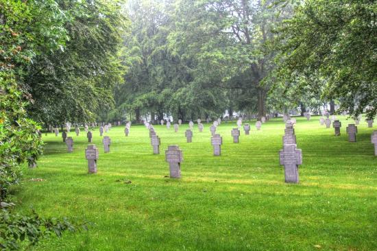 Recogne (Bastogne), Belgium: The German cemetery