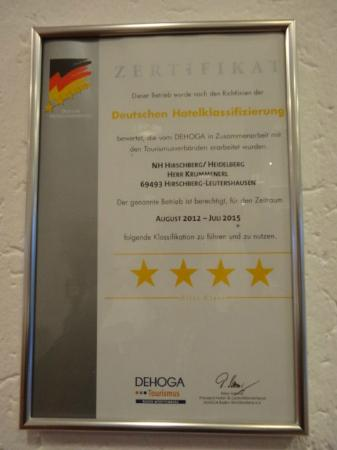 NH Hirschberg Heidelberg: 4 estrelas ????