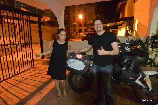 Lemon Inn Panama: Jenny and Ricardo