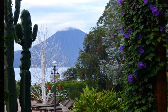 Villa Santa Catarina: Vista desde os jardins do hotel
