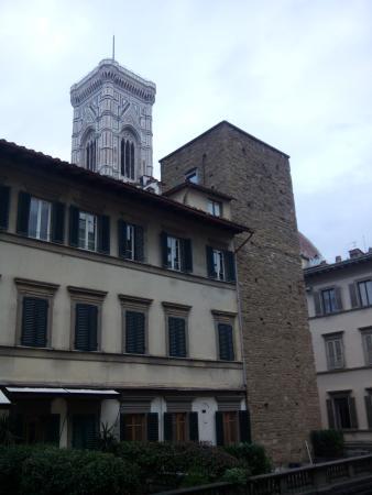 Hotel Medici: vista desde la ventana
