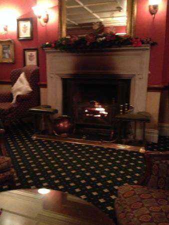 Relaxing fireplace - Picture of Passford House, Lymington